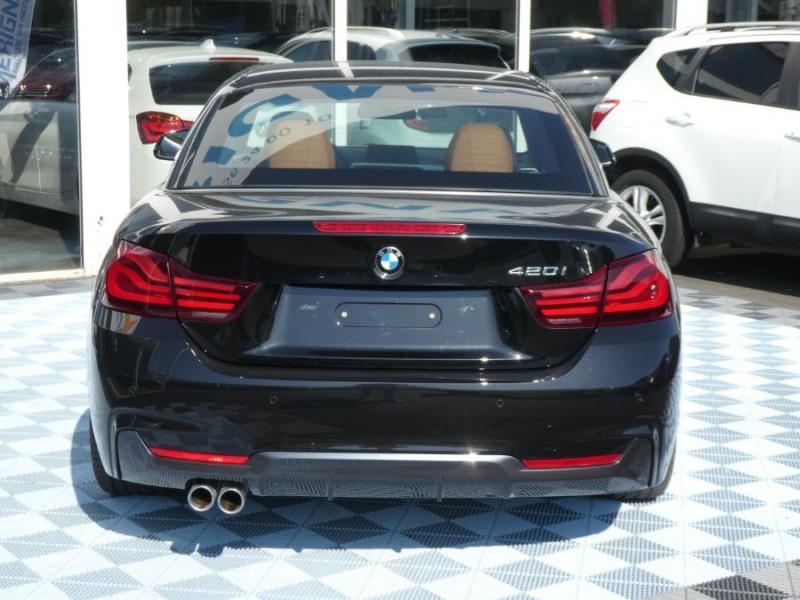 Photo 6 de l'offre de BMW SERIE 4 CABRIOLET (F33) 420i 184 BVA8 M SPORT Gtie 02/23 à 39900€ chez Mérignac auto