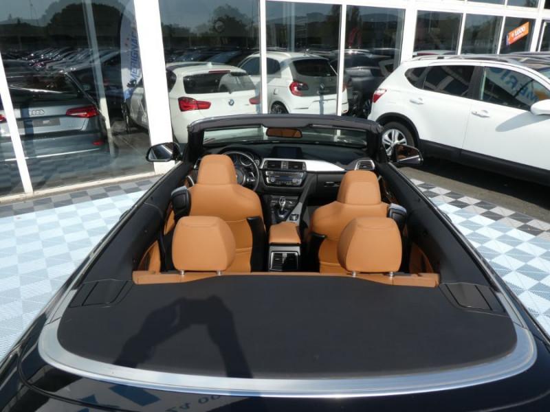Photo 9 de l'offre de BMW SERIE 4 CABRIOLET (F33) 420i 184 BVA8 M SPORT Gtie 02/23 à 39900€ chez Mérignac auto