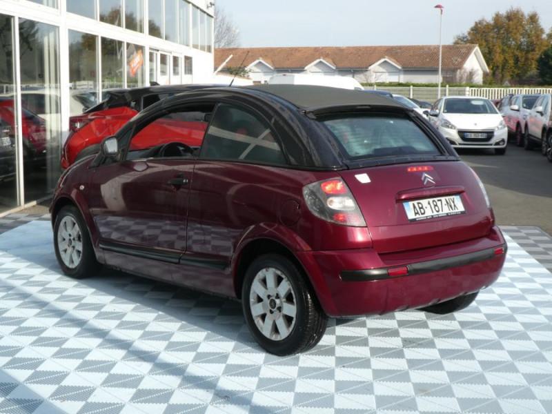 Photo 4 de l'offre de CITROEN C3 PLURIEL 1.4 HDI ROUGE CHARLESTON 1ère Main à 6690€ chez Mérignac auto