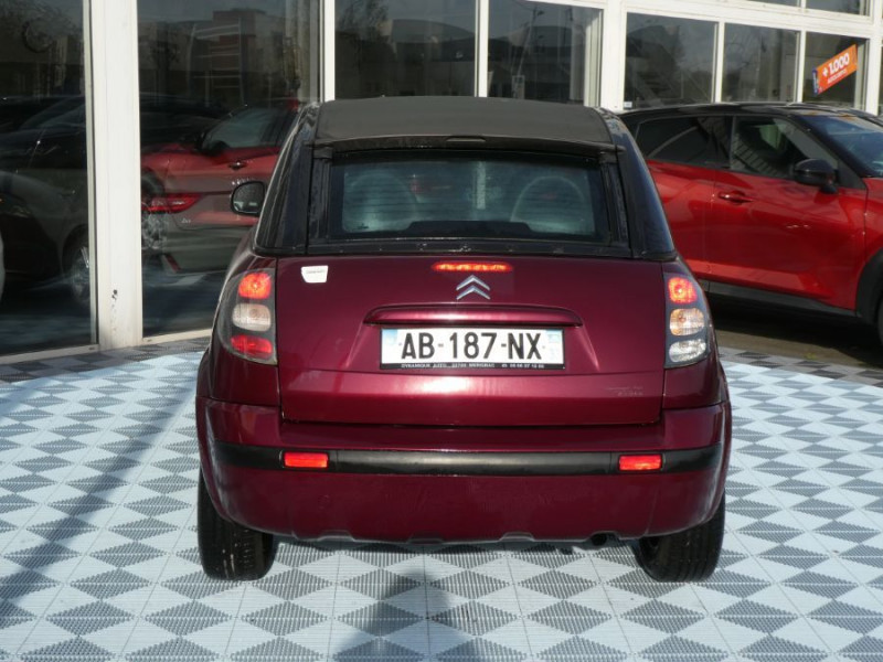 Photo 5 de l'offre de CITROEN C3 PLURIEL 1.4 HDI ROUGE CHARLESTON 1ère Main à 6690€ chez Mérignac auto