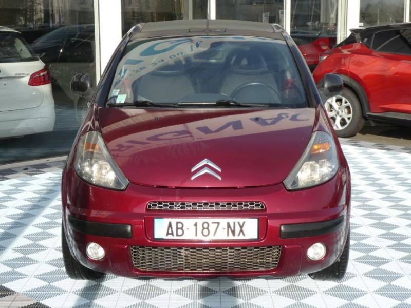 Photo 2 de l'offre de CITROEN C3 PLURIEL 1.4 HDI ROUGE CHARLESTON 1ère Main à 6690€ chez Mérignac auto