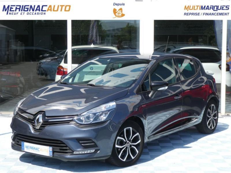 Renault CLIO IV 1.5 DCi 90 LIMITED JA16 Bluetooth 1ère Main DIESEL GRIS TITANIUM Occasion à vendre