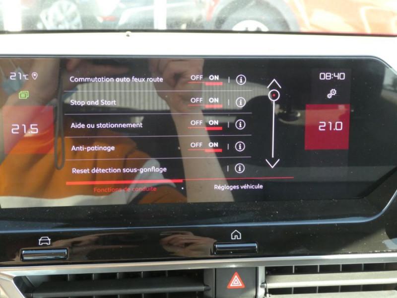 Photo 20 de l'offre de CITROEN C4 BlueHDi 130 EAT8 SHINE HIGHWAY Assist Induction TOIT Ouvrant à 28200€ chez Mérignac auto