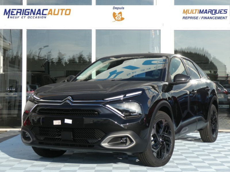 Citroen C4 BlueHDi 130 EAT8 SHINE HIGHWAY Assist Induction TOIT Ouvrant DIESEL NOIR PERLE MÉTAL Neuf à vendre