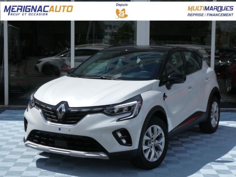 Renault CAPTUR II TCe 140 EDC7 INTENS JA17 Camera ESSENCE BLANC NACRE TOIT NOIR Neuf à vendre