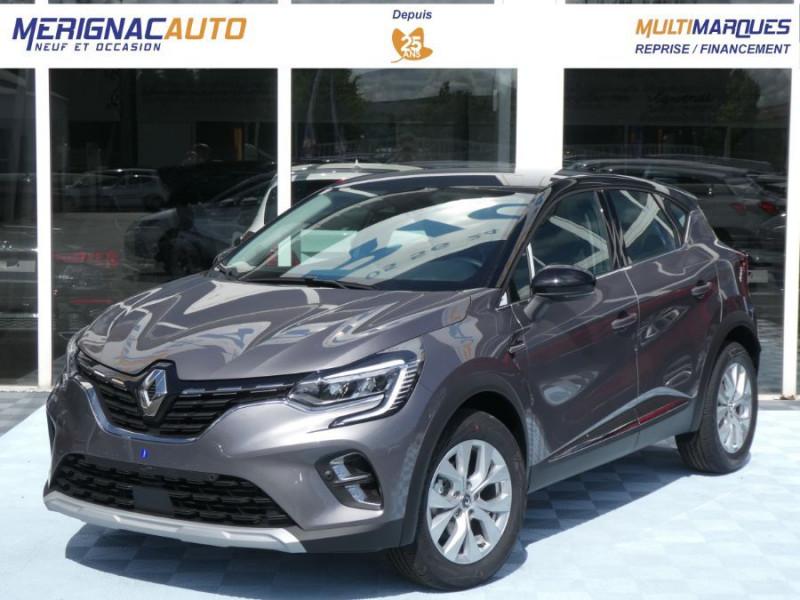 Renault CAPTUR II TCe 140 BV6 INTENS JA17 Camera ESSENCE GRIS CASSIOPEE TOIT NOIR Neuf à vendre