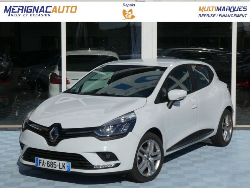 Renault CLIO IV 1.5 DCi 90 BUSINESS Bluetooth DIESEL BLANCHE Occasion à vendre