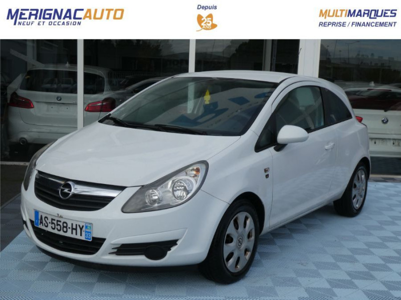 Opel CORSA 1.0 TWINPORT 65CV 111 CLIM 3P ESSENCE BLANCHE Occasion à vendre