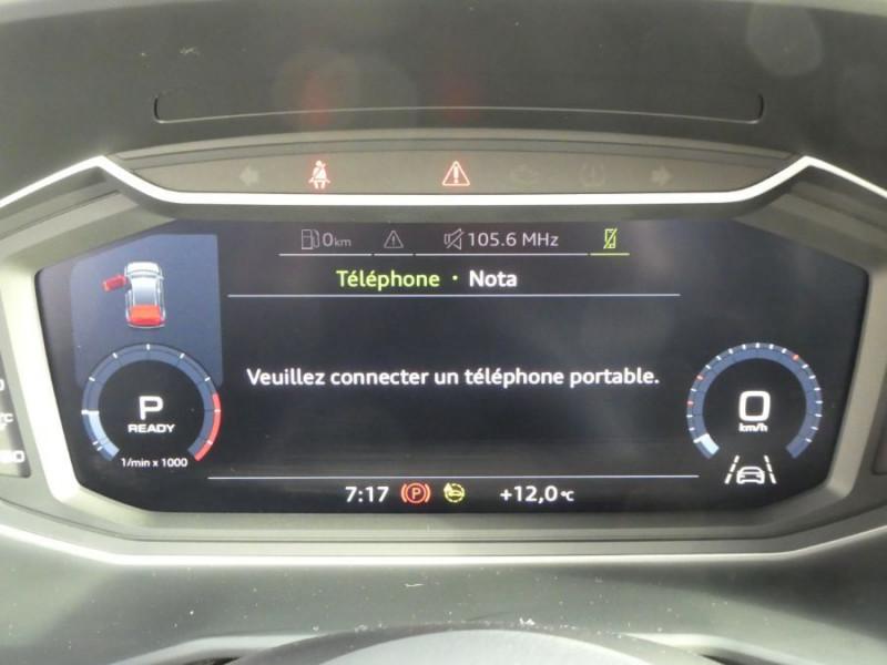Photo 14 de l'offre de AUDI A1 SPORTBACK II 30 TFSI 110 S tronic 7 Pack Ext. S LINE JA17 Camera Radars à 27980€ chez Mérignac auto