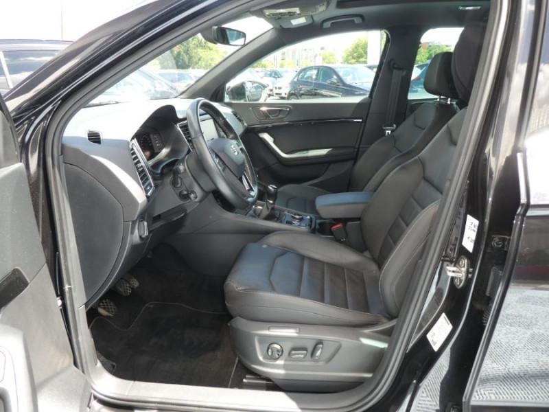 Photo 5 de l'offre de SEAT ATECA 2.0 TDI 150 BV6 4DRIVE XCELLENCE CUIR TOE JA19 à 26490€ chez Mérignac auto