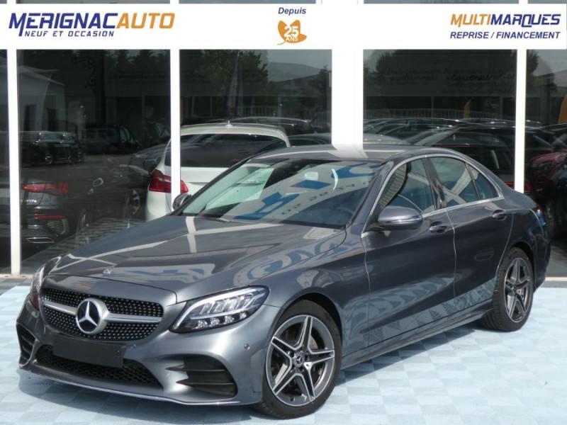 Mercedes-Benz CLASSE C IV 200 D 160 9G-Tronic AMG LINE JA18 LED Camera DIESEL GRIS SELENITE METAL Occasion à vendre