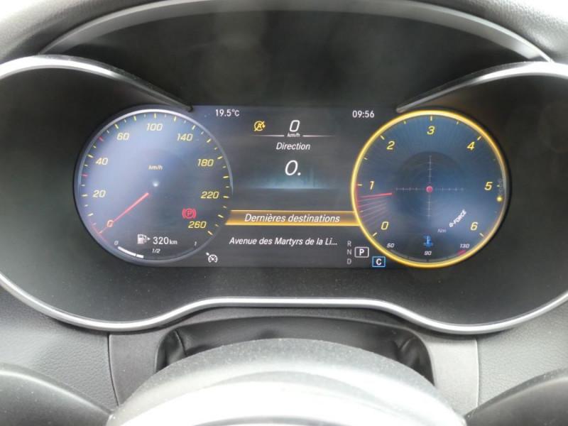 Photo 14 de l'offre de MERCEDES-BENZ CLASSE C IV 200 D 160 9G-Tronic AMG LINE JA18 LED Camera à 32950€ chez Mérignac auto