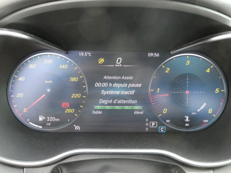 Photo 16 de l'offre de MERCEDES-BENZ CLASSE C IV 200 D 160 9G-Tronic AMG LINE JA18 LED Camera à 32950€ chez Mérignac auto