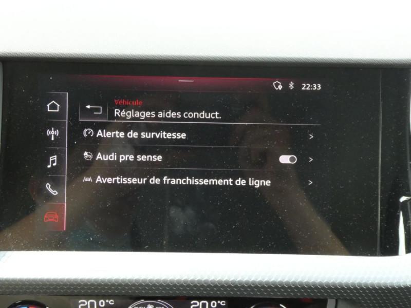 Photo 17 de l'offre de AUDI A1 SPORTBACK II 30 TFSI 116 S tronic 7 SPORT à 23850€ chez Mérignac auto