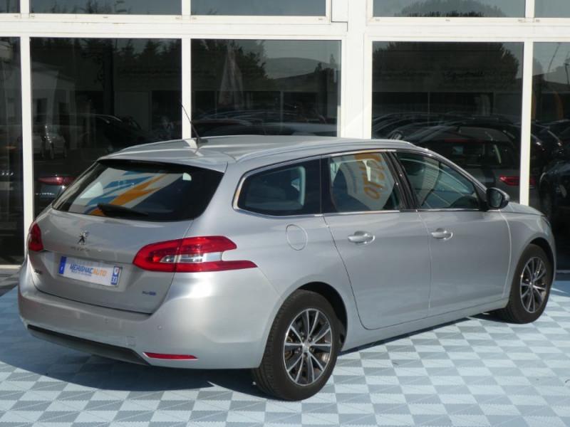 Photo 3 de l'offre de PEUGEOT 308 SW 1.6 BlueHDi 120 EAT6 ALLURE Radars à 14290€ chez Mérignac auto