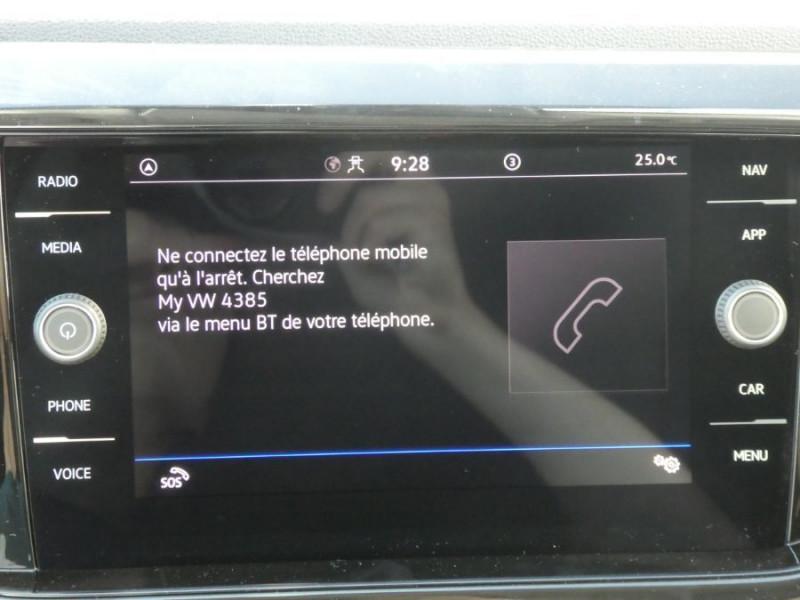 Photo 15 de l'offre de VOLKSWAGEN T-CROSS 1.0 TSI 110 DSG7 LOUNGE PACK BLACK Camera JA17 (8 Options) à 24980€ chez Mérignac auto