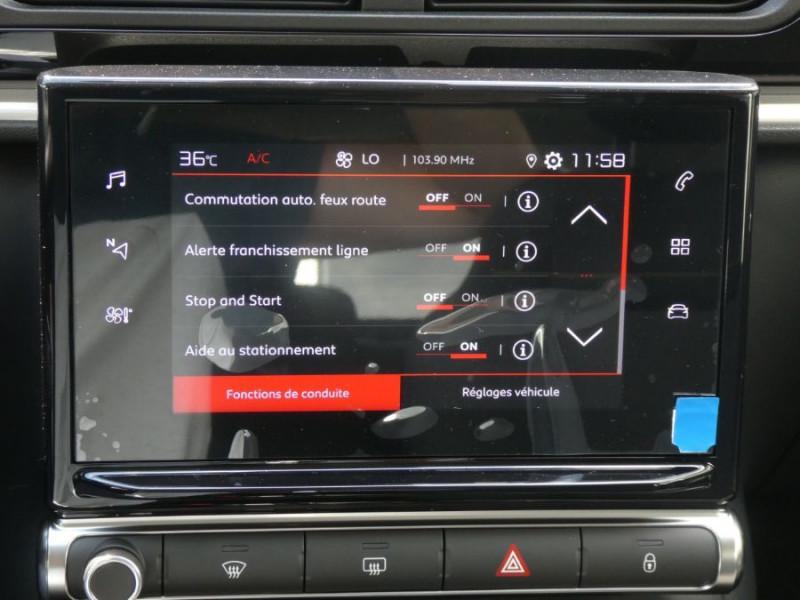 Photo 15 de l'offre de CITROEN C3 New PureTech 83 SHINE Mirror Link 4VE SC à 15950€ chez Mérignac auto