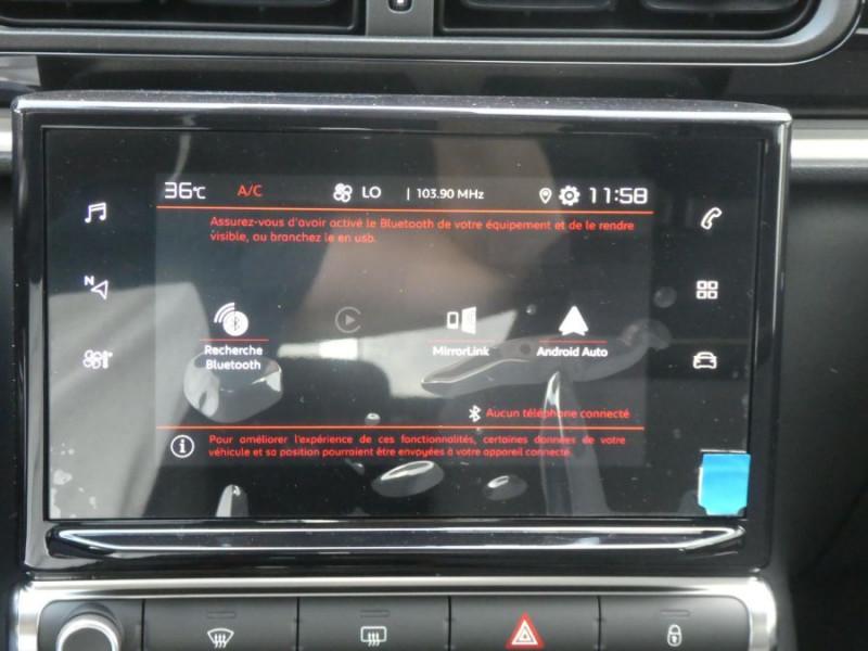 Photo 14 de l'offre de CITROEN C3 New PureTech 83 SHINE Mirror Link 4VE SC à 15950€ chez Mérignac auto