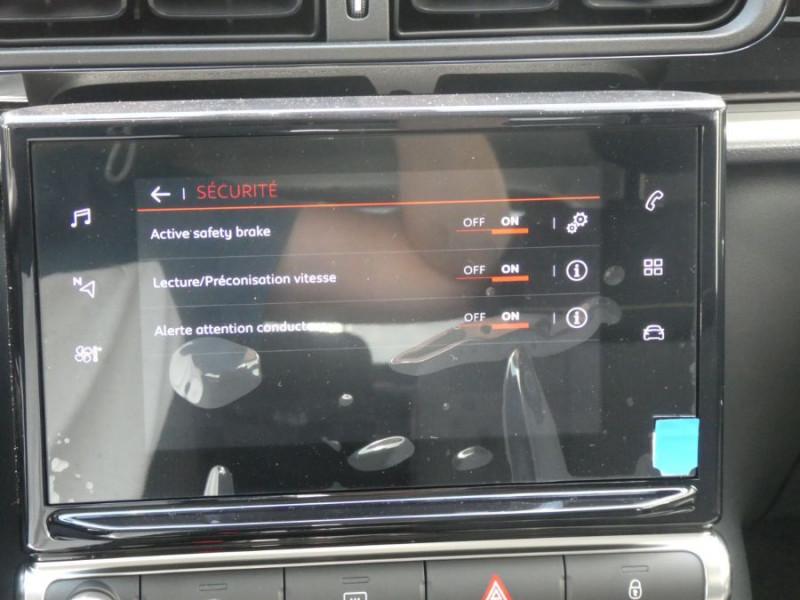 Photo 12 de l'offre de CITROEN C3 New PureTech 83 SHINE Mirror Link 4VE SC à 15950€ chez Mérignac auto