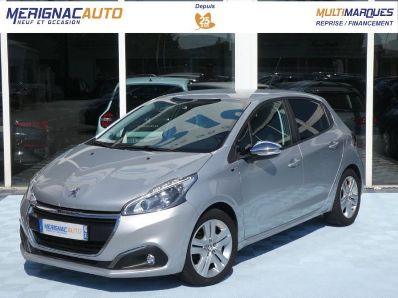 Peugeot 208 1.6 BlueHDi 75 STYLE GPS Pack City DIESEL GRIS ALU Occasion à vendre