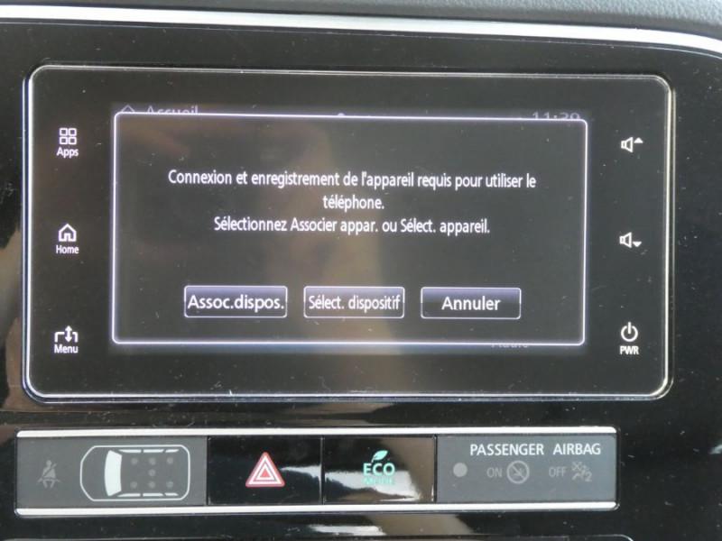 Photo 16 de l'offre de MITSUBISHI OUTLANDER III (2) PHEV TWIN MOTOR 4WD INTENSE Attelage à 25950€ chez Mérignac auto