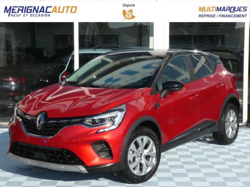 Renault CAPTUR II TCe 130 EDC7 ZEN Pack NAVI JA17 ESSENCE ROUGE FLAMME TOIT NOIR Neuf à vendre