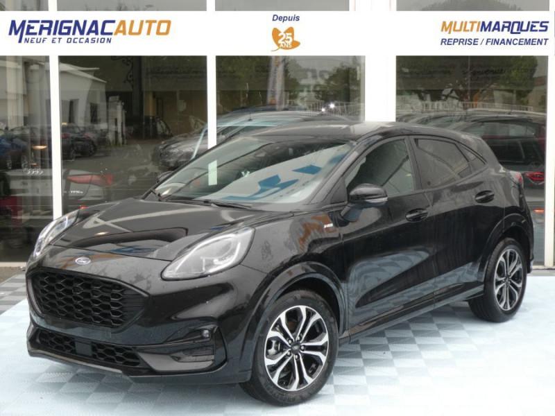 Ford PUMA 1.0 EcoBoost 125 DCT7 ST-LINE (8 Options) Gtie 07/26 ESSENCE NOIR AGATE Neuf à vendre