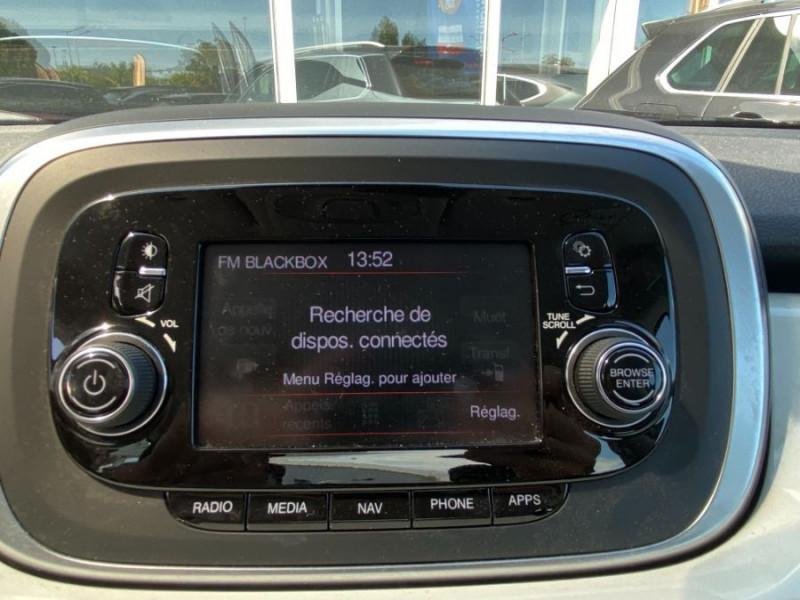 Photo 14 de l'offre de FIAT 500 X 1.6 MULTIJET 120 BV6 POPSTAR GPS 1ère Main à 15450€ chez Mérignac auto