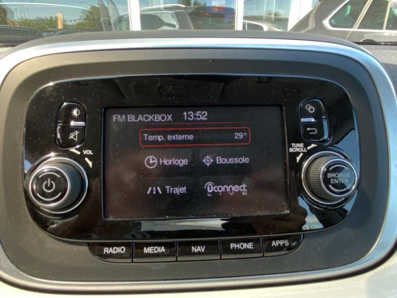 Photo 13 de l'offre de FIAT 500 X 1.6 MULTIJET 120 BV6 POPSTAR GPS 1ère Main à 15450€ chez Mérignac auto