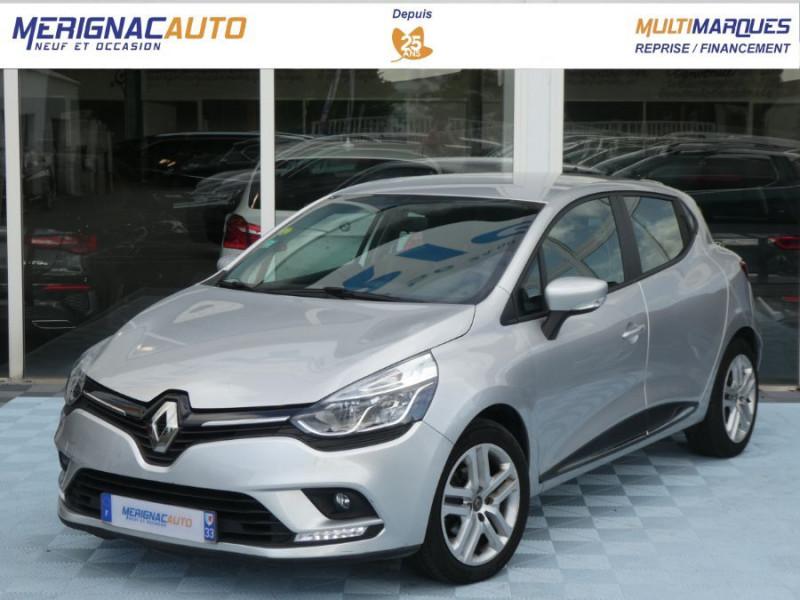 Renault CLIO IV 1.5 DCi 75 BUSINESS GPS DIESEL GRIS PLATINE Occasion à vendre