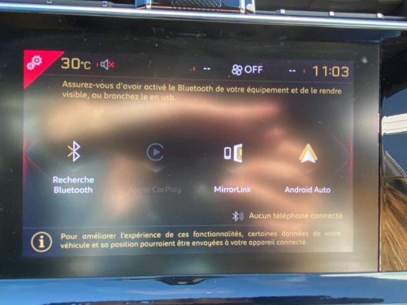 Photo 18 de l'offre de DS DS7 CROSSBACK BlueHDi 130 EAT8 PERFORMANCE LINE LED Vision Mirror Link à 35950€ chez Mérignac auto