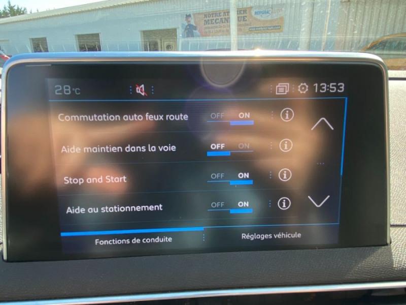Photo 15 de l'offre de PEUGEOT 3008 1.5 BlueHDI 130 EAT8 ALLURE Camera à 29750€ chez Mérignac auto