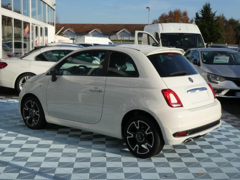 Photo 4 de l'offre de FIAT 500 1.0 70 BSG Hybrid BV6 ROCKSTAR GPS TFT TOIT Pano JA16 à 15450€ chez Mérignac auto