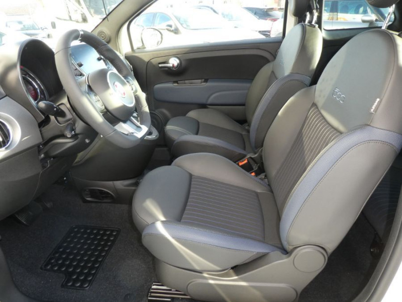 Photo 5 de l'offre de FIAT 500 1.0 70 BSG Hybrid BV6 ROCKSTAR GPS TFT TOIT Pano JA16 à 15450€ chez Mérignac auto