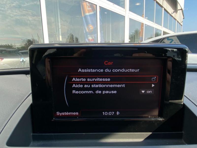 Photo 14 de l'offre de AUDI Q3 2.0 TDI 150 BV6 SPORT LINE GPS JA18 Hayon Elect. 1ère Main à 22950€ chez Mérignac auto
