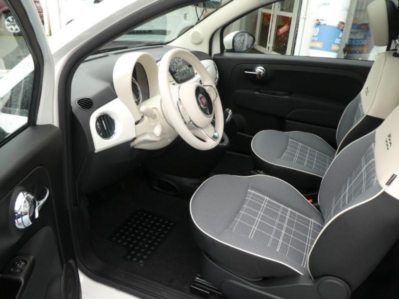 Photo 5 de l'offre de FIAT 500 1.0 70 BSG Hybrid BV6 LOUNGE Radar AB Pk Visi (8 Options) à 14250€ chez Mérignac auto