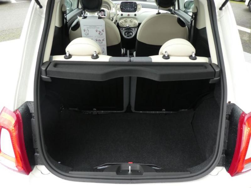 Photo 8 de l'offre de FIAT 500 1.0 70 BSG Hybrid BV6 LOUNGE Radar AB Pk Visi (8 Options) à 14250€ chez Mérignac auto
