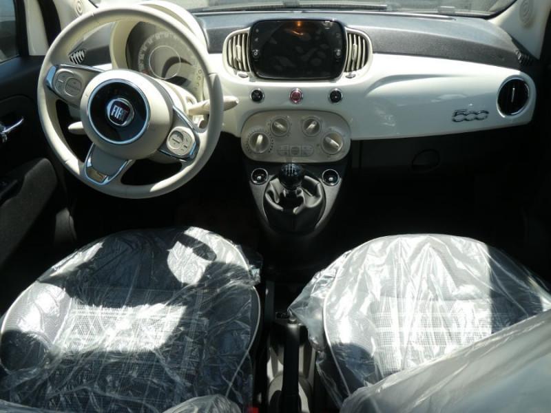 Photo 6 de l'offre de FIAT 500 1.0 70 BSG Hybrid BV6 LOUNGE Radar AB Pk Visi (8 Options) à 14250€ chez Mérignac auto