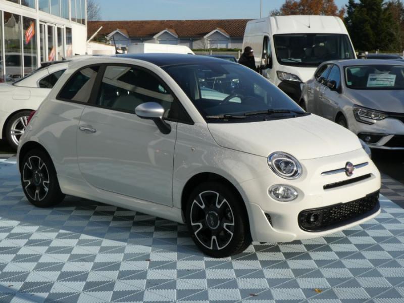 Photo 3 de l'offre de FIAT 500 1.0 70 BSG Hybrid BV6 ROCKSTAR GPS TFT TOIT Pano JA16 à 15450€ chez Mérignac auto