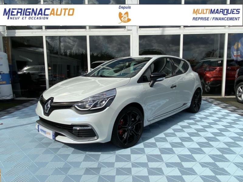 Renault CLIO IV 1.6 TURBO 200 RS EDC PACK CUP ESSENCE BLANC NACRÉ Occasion à vendre