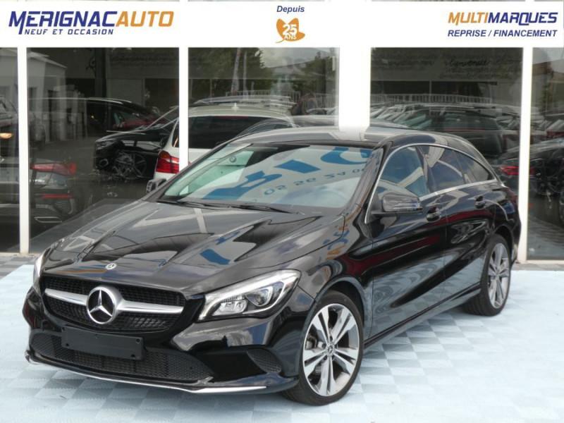 Mercedes-Benz CLA SHOOTING BRAKE (2) 200 D 7G-DCT URBAN GPS Camera JA17 Hayon él. DIESEL NOIRE Occasion à vendre