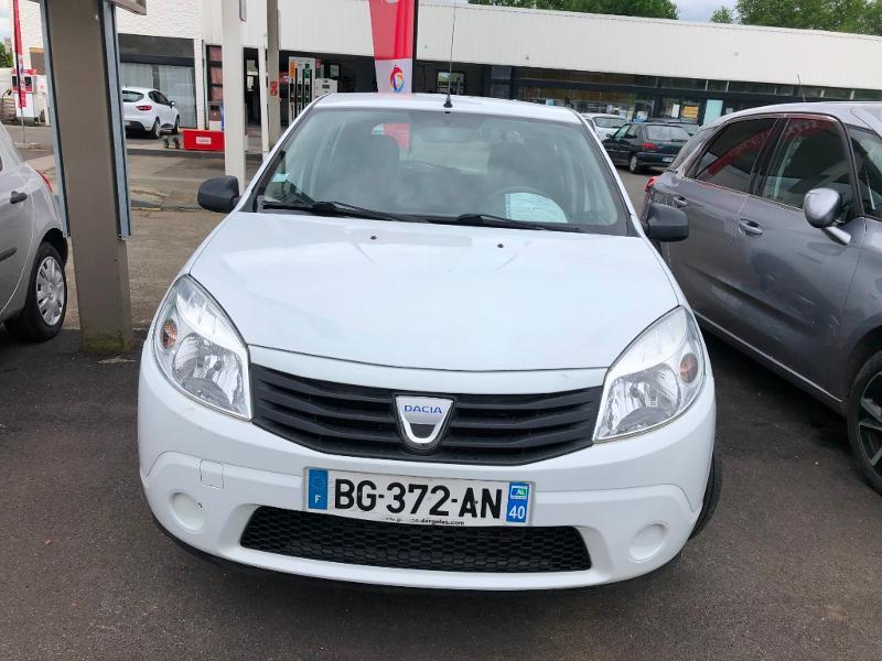 Dacia Sandero 1.2 16v 75ch GPL Ambiance Euro5 Gaz BLANC Occasion à vendre