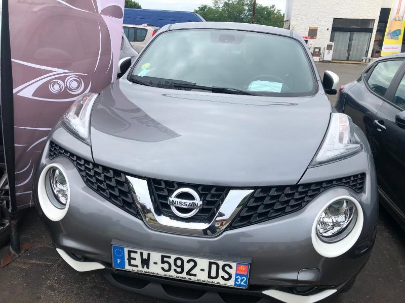Nissan Juke 1.5 dCi 110ch N-Connecta Diesel Gris Clair Métal Occasion à vendre