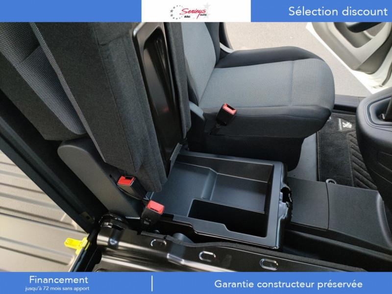 Photo 24 de l'offre de PEUGEOT PARTNER FGN PREMIUM BLUEHDI 100 3PL RADAR à 18800€ chez Garage Serieys Auto