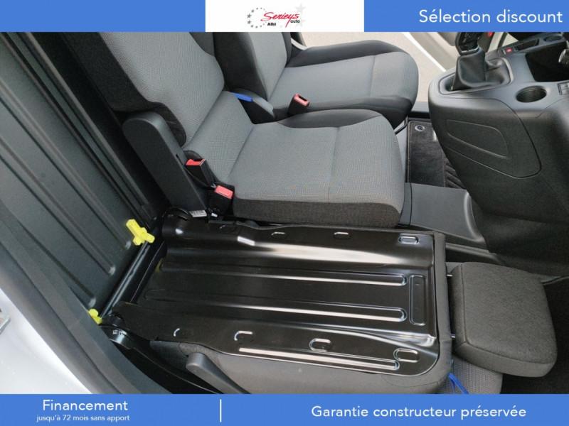 Photo 7 de l'offre de PEUGEOT PARTNER FGN PREMIUM BLUEHDI 100 3PL RADAR à 18800€ chez Garage Serieys Auto