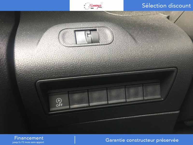 Photo 15 de l'offre de PEUGEOT PARTNER FGN PRO BLUEHDI 100 CLIM+2P 1000KG à 16980€ chez Garage Serieys Auto