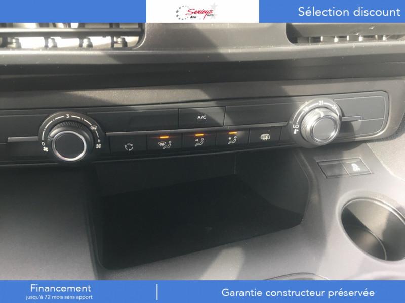 Photo 2 de l'offre de PEUGEOT PARTNER FGN PRO BLUEHDI 100 CLIM+2P 1000KG à 16980€ chez Garage Serieys Auto