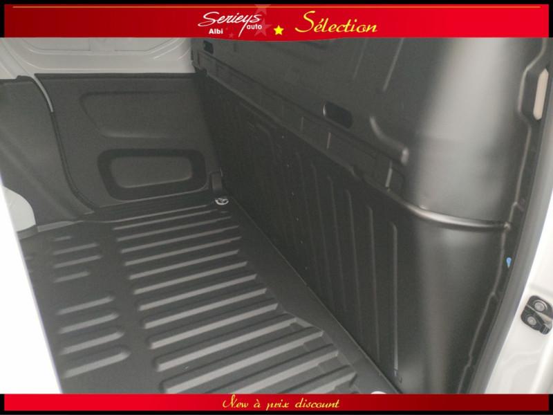 Photo 3 de l'offre de PEUGEOT PARTNER FGN PRO BLUEHDI 100 CLIM+2P 1000KG à 16980€ chez Garage Serieys Auto