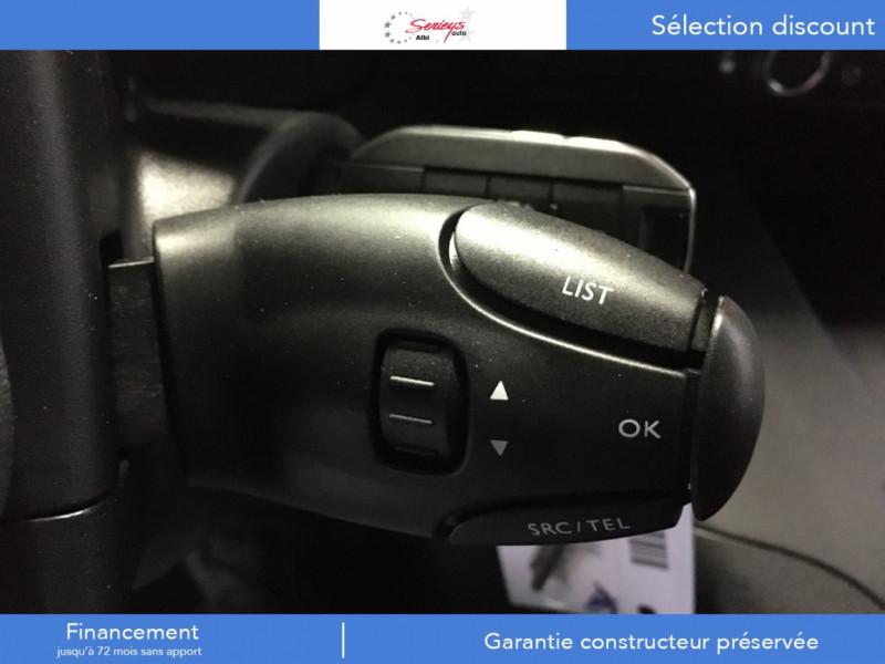 Photo 9 de l'offre de PEUGEOT PARTNER FGN PRO BLUEHDI 100 CLIM+2P 1000KG à 16980€ chez Garage Serieys Auto