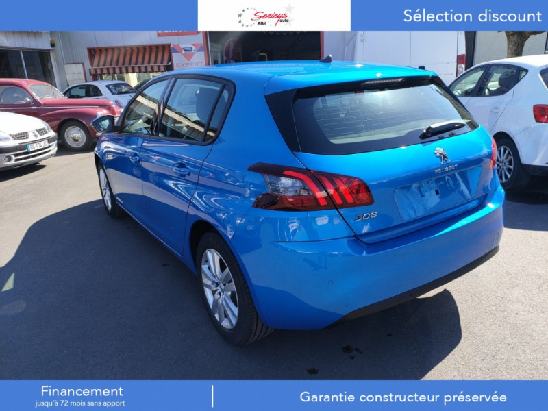 Photo 14 de l'offre de PEUGEOT 308 Active Pack BlueHDi 130 GPS+Camera AR à 20980€ chez Garage Serieys Auto